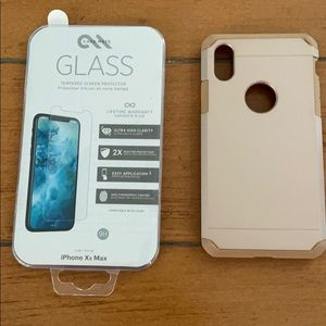 Casetify IPhone XS with Glass Protector
